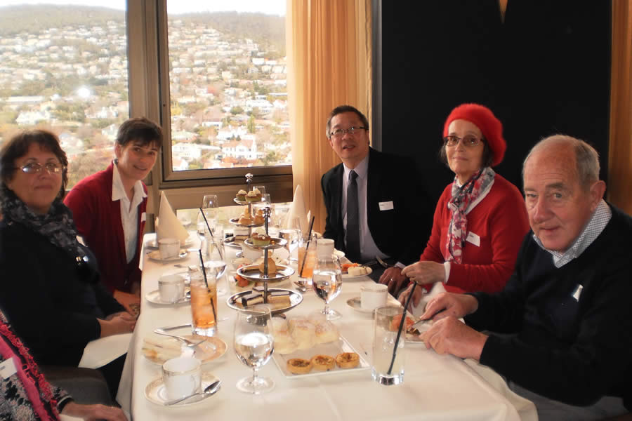 News - 2014 Winter Solstice High Tea at the Point